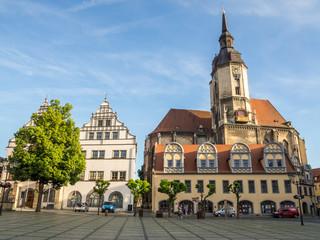 Marktplatz von Naumburg
