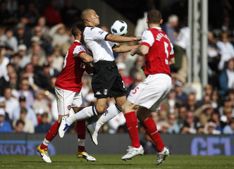 Fulham v Arsenal Barclays Premier League