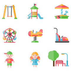 playground icon set