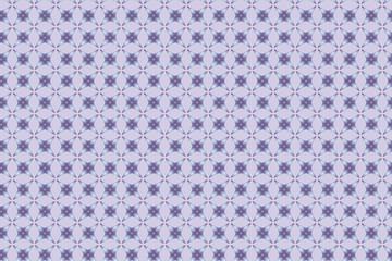 Geometric seamless pattern stars light blue.