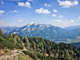 Panoramic view in National Park Gesäuse, Styria, Austria