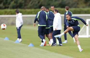 Tottenham Hotspur's Andros Townsend during training