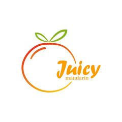 Juicy mandarin logo