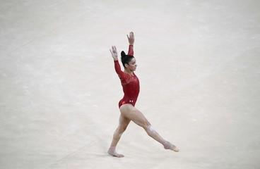 2016 Rio Olympics - Gymnastics training