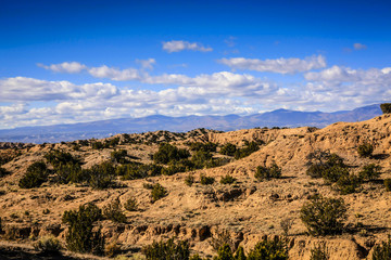 View of the Santa Fe National Forest in New Mexico