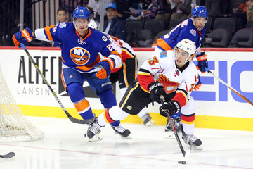 NHL: Calgary Flames at New York Islanders