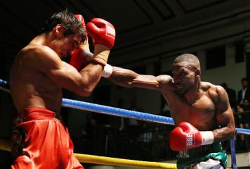 Larry Ekundayo v Stanislav Nenkov International Masters Welterweight Title