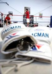 Manny Pacquiao & Amir Khan Work-Out