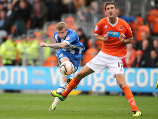 Blackpool v Wigan Athletic - Sky Bet Football League Championship