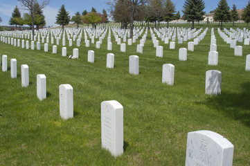 National Cemetery in Santa Fe, New Mexico