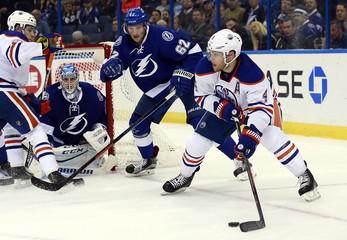 NHL: Edmonton Oilers at Tampa Bay Lightning