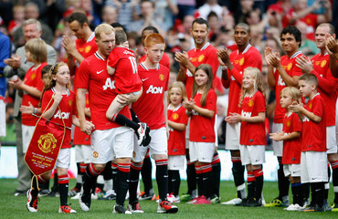 Manchester United v New York Cosmos - Paul Scholes Testimonial