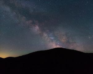 Milky Way Near Philipsburg Montana