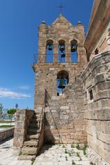Zakynthos the church of Agios Nikolaos at Solomou Square