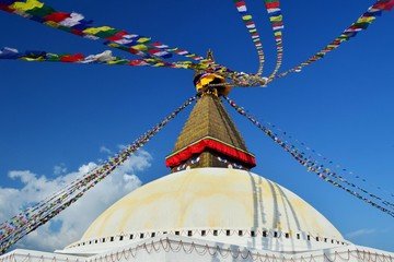 Bauddhanāth in Kathmandu Nepal