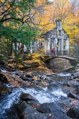 Stock Photo - Abandoned ruin and waterfall.jpg