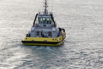 Back of pilot boat