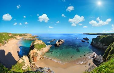 Atlantic Ocean coast, Spain. Wall mural