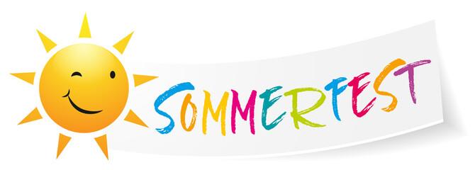 Sommerfest Sonne