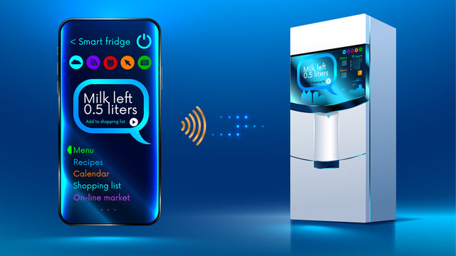 Smart fridge iot