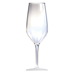 Cup of wine isolated