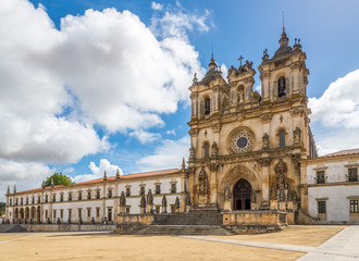 View at the Monastery of Alcobaca - Portugal Wall mural