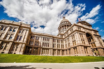 austin texas city and state capitol building