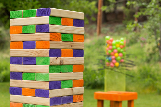 Giant Jenga Block Game