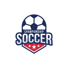 American soccer championship logo