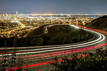 night time in san francisco california