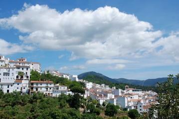 Pueblo de Genalguacil, Málaga, Andalucía