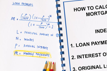 Calculation on monthly payments