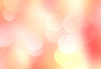 Orange yellow blurred lights background.
