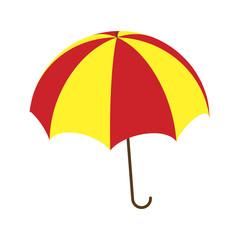 Umbrella vector symbol icon design.