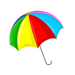 Umbrella vector symbol icon design.
