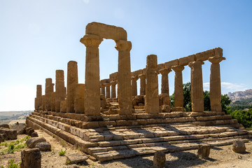 Temple of Juno in the Valley of Temples - Agrigento, Sicily, Italy
