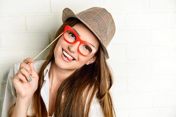 having fun with eyeglasses