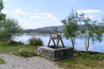 Ruins of ancient city of Butrint, Albania. Butrint was one of the biggest roman settlements in Balkan region.