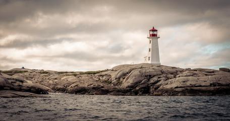 lighthouse in Peggy's Cove, Nova Scotia
