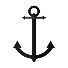 sailing anchor icon image vector illustration design