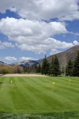 Putting Green at the Vail Golf Course