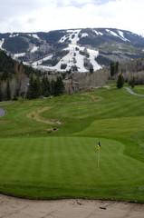 Beaver Creek Golf Course and Ski Slopes