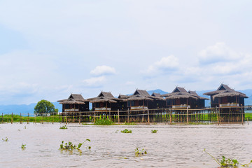 Floating villages