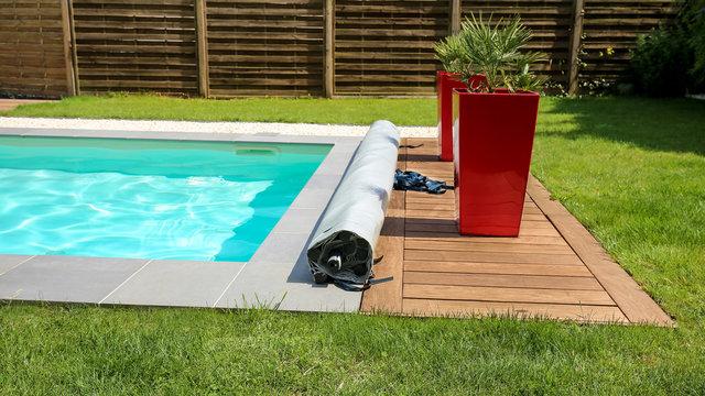 bâche à barres 4 saisons pour piscine 3