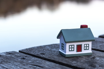 Small model of house