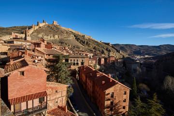 Medieval village of Albarracin in Teruel, Spain