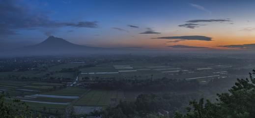 Merapi Volcano Landscape