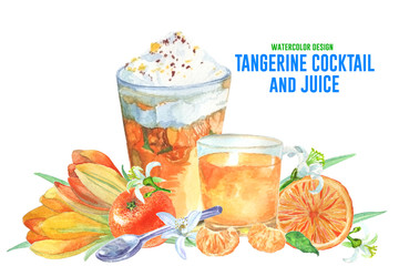 watercolor-design-tangerine-cocktail-and-juice-2