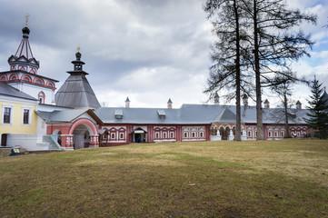 The architectural ensemble of the Savvino-Storozhevsky monastery in Zvenigorod