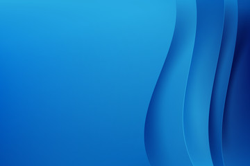 Abstract blue background dark curve layered and overlap vector illustration eps10 001